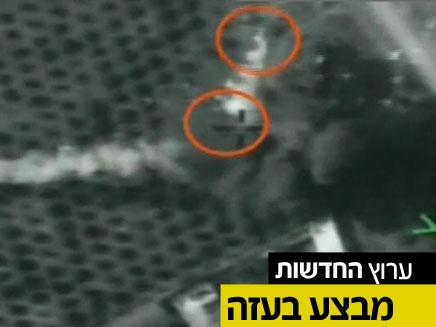"""תקיפת צה""""ל (צילום: חדשות 2)"""