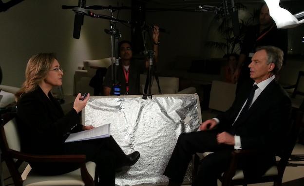 ראיון בלעדי עם טוני בלייר (תמונת AVI: mako)