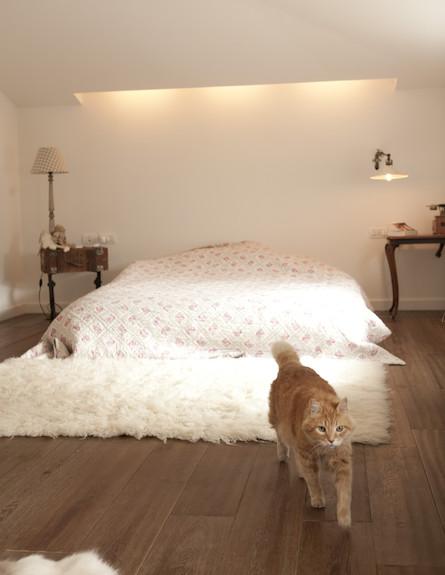 חדר שינה הורים (צילום: מתוך קטלוג פמינה 2010, עידו לביא (ארכיון))