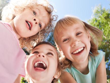 ילדים שמחים (צילום: אימג'בנק / Thinkstock)