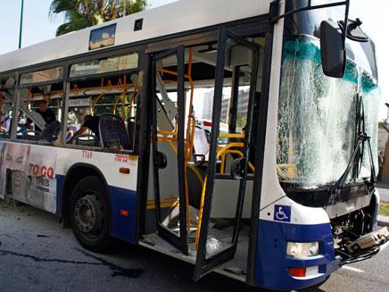 זירת הפיגוע בתל אביב, לפני כחודשיים (צילום: רויטרס)