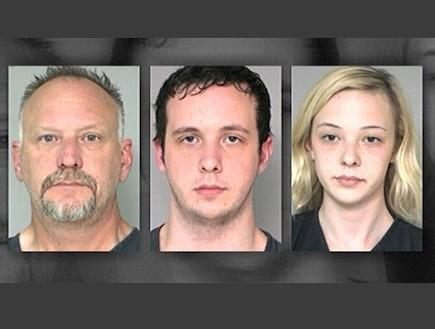 משפחת קט החשודה בשוד בנקים (צילום: abcnews.go.com)