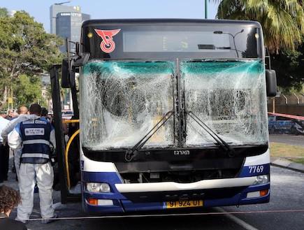 פיגוע בתל אביב - 7 (צילום: ראובן שניידר )