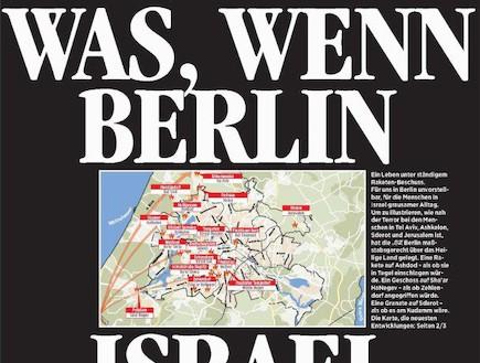 כותרת בעיתון בברלין (צילום: KateRiep_Godbye)