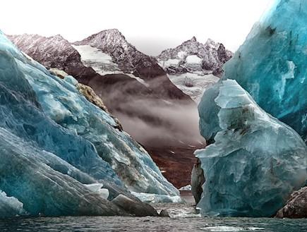 הקרחונים נמסים