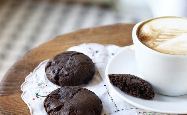 עוגיות שוקולד וחמאת בוטנים (צילום: אפיק גבאי, קפה נולה)
