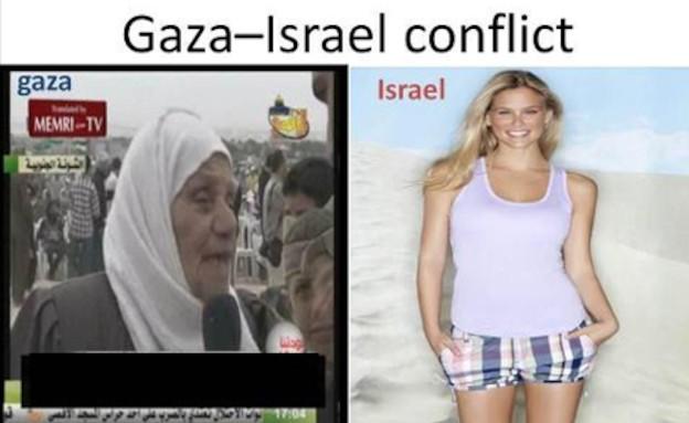נשות ישראל מול נשות עזה