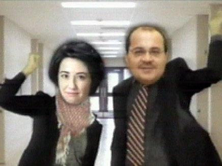"""יו""""ר הקואליציה בחר בדרך מקורית לקדם הקמפיין (צילום: חדשות 2)"""