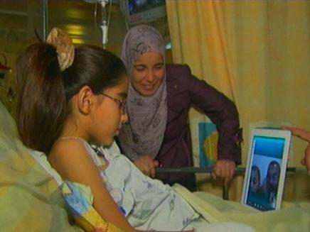 """ביסאן בת ה-9, ביה""""ח תל השומר, השבוע (צילום: חדשות 2)"""