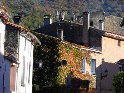 הכפר בוגראש - דרום צרפת (צילום: חדשות 2)