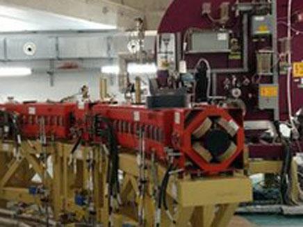הסינכרוטרון של שומשום (צילום: BBC)