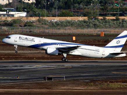 המראה אחרונה. 757 של אל-על עוזב