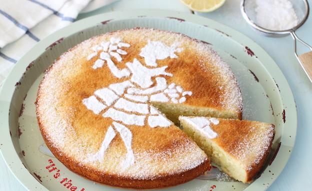 עוגת לימון ושמן זית (צילום: חן שוקרון, אוכל טוב)