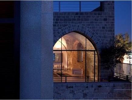 בית בסמטאות יפו אדריכלות פיצו קדם אדריכלים