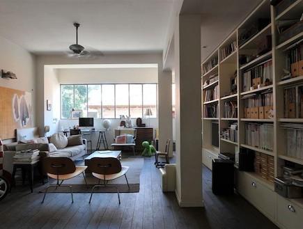 דירה בלב תל אביב בבנין בהאוס