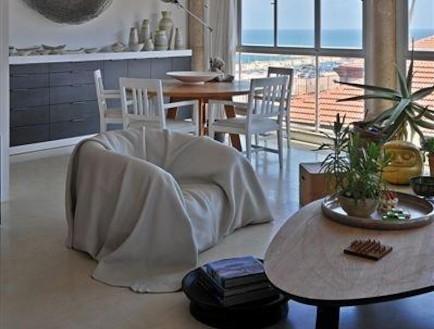 דירה יפואית עיצוב דפנה קסטיאל