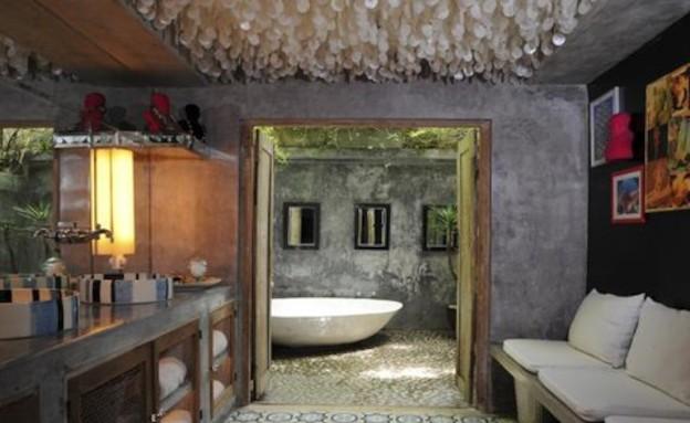 אמבטיה בחוץ (צילום: מתוך האתר creativeactivity.blogg.se)