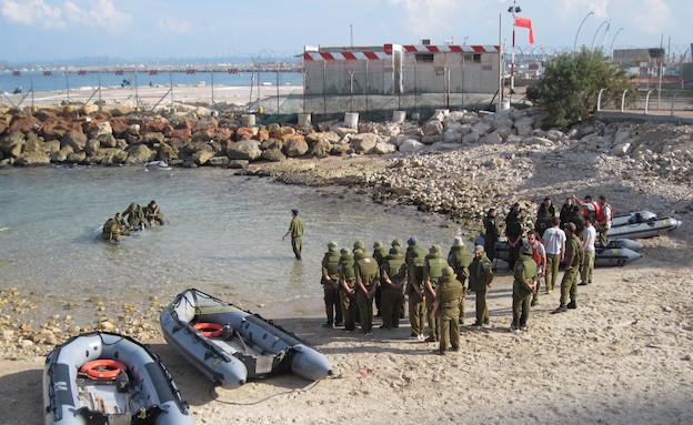 """גיבוש סטי""""לים בבה""""ד חיל הים (צילום: דובר צה""""ל)"""