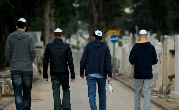 בדרך לבוררות (צילום: רועי ברקוביץ)