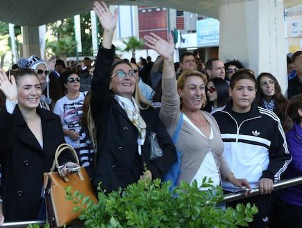 """גיוס לוחמות ומ""""כים 27.11.2012 (צילום: עודד קרני)"""