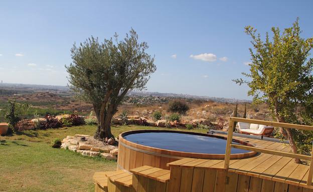 האט טאב צימר (צילום: מתוך האתר hot-tub.co.il)