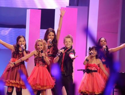 ישראל באירוויזיון הילדים (צילום: Andres Putting, Elke Roels, EBU)