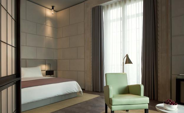 חדר שינה (צילום: hotelcaferoyal.com)