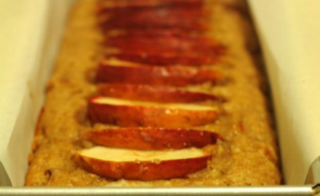 עוגת פירות בחושה טבעונית (צילום: ערן אבן)