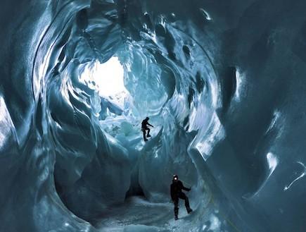 מערת קרח בשוויץ