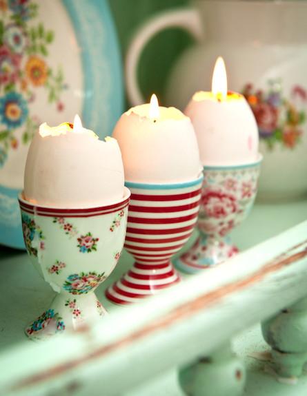 נרות מעוצבים (צילום: דנה ישראלי)