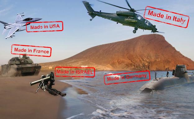 יצרניות נשק בעולם (צילום: סטודיו mako)