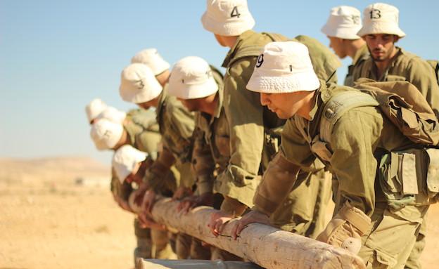 """גיבוש גדס""""ר נח""""ל (צילום: זאב מרמורשטיין, באדיבות גרעיני החיילים)"""