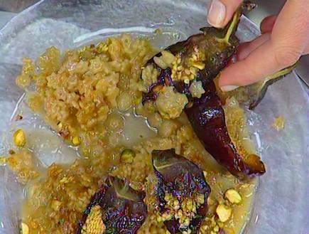 פתיתים מתוקים עם ריבת חצילים, טחינה ודבש (תמונת AVI: mako)