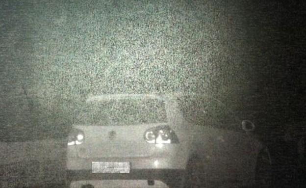"""מכונית שנתפסה במהירות 200 קמ""""ש"""