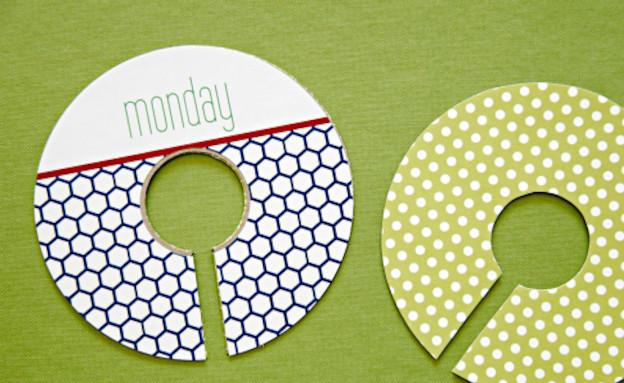 מתלים עגולים (צילום: מתוך האתר iheartorganizing )