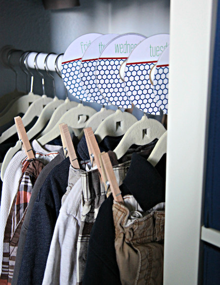 ארון תלייה  (צילום: מתוך האתר iheartorganizing)
