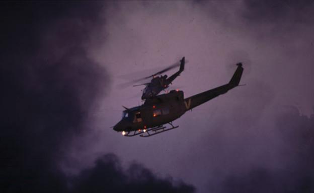 מסוקים בלילה (צילום: אתר חיל האוויר)