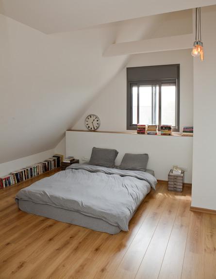 חדר שינה הורים (צילום: צילום: הגר דופלט)