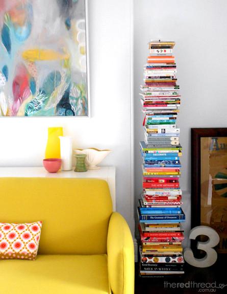 ספריה 5 (צילום: lisaTilse_Bookshelf1)