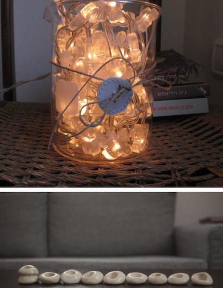 תאורה זכוכית (צילום: עידו לביא והגר דופלט)