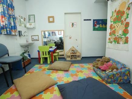 חדר במרפאת הינקות