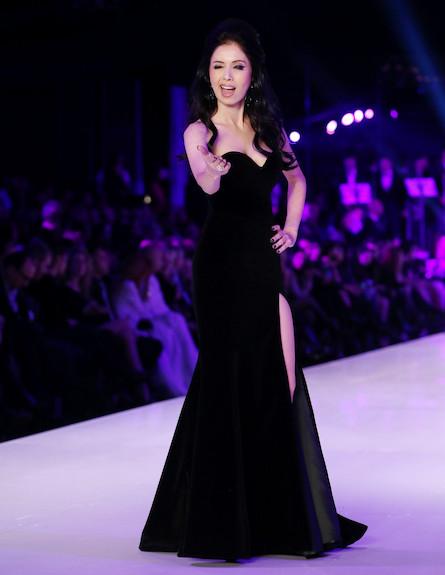 שבוע האופנה דצמבר 2012 ניקול ריידמן
