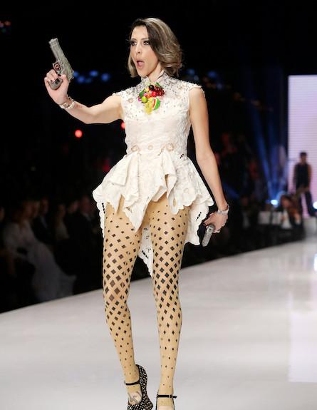 שבוע האופנה דצמבר 2012 מיכל שפירא