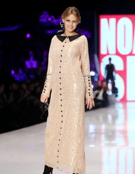 שבוע האופנה דצמבר 2012 נועה וולמן