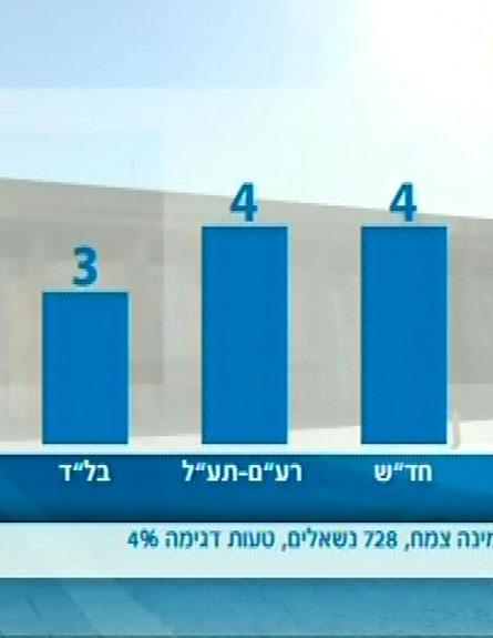 עוצמה לישראל ועם שלם - שני מנדטים (צילום: חדשות 2)