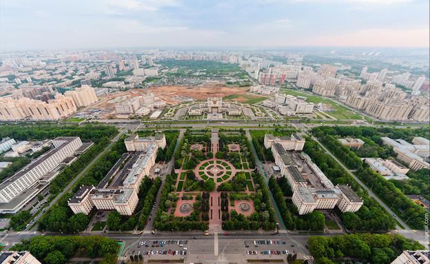 צילום העיר מהגובה (צילום: מהבלוג של ויטלי רסקלוב)
