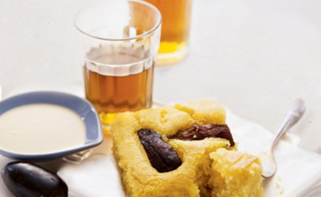 עוגת סולת, מסעדת ברטי (צילום: דן לב, על השולחן)