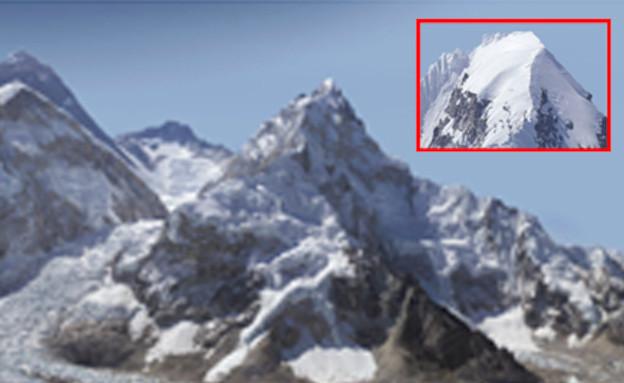 תמונת הר האוורסט עם 2 מיליארד פיקסלים