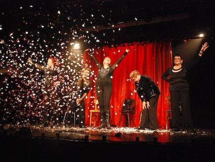 סוף המופע (צילום: ארז ורדון)