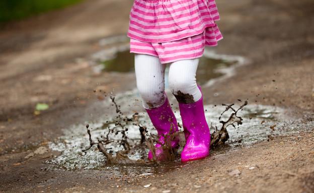 מגפיים עם בוץ (צילום: Thinkstock)
